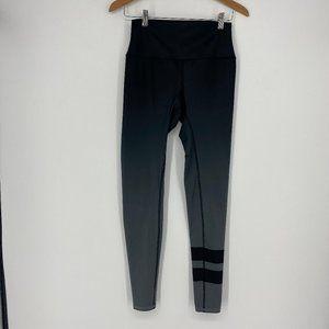 Alo Yoga | Size S, Striped Airbrush Leggings